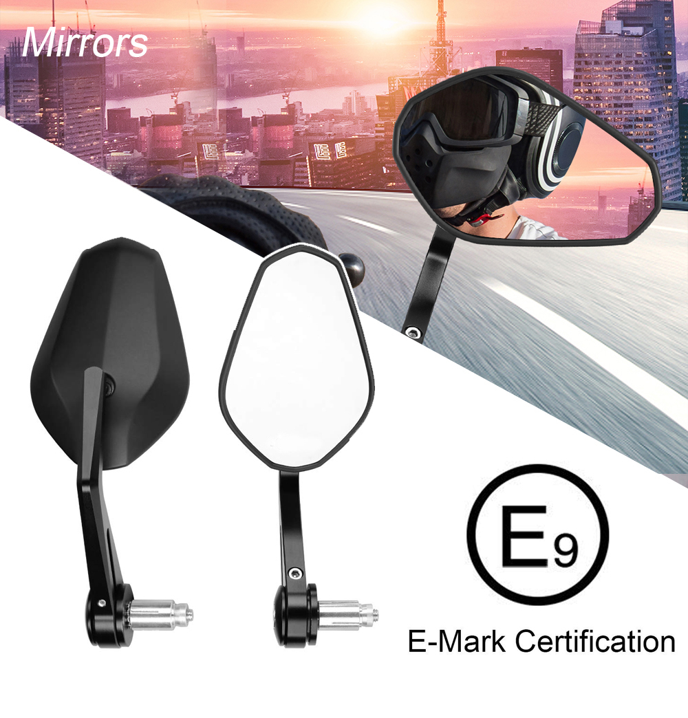 Rearview Mirror For Honda Motorcycle HandBar End Mirror For Shadow For Valkyrie For Magna For Rebel Scooter For Jazz For