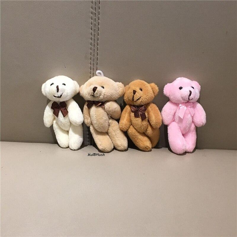 10 teile/los Bär Plüsch; stofftier geschenk spielzeug, kleine zubehör plüsch puppe