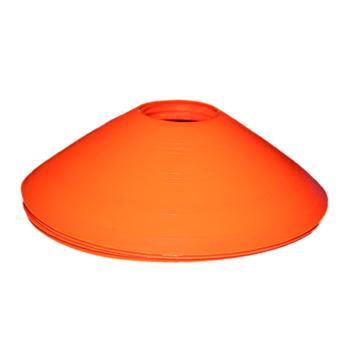 10 sztuk stożek Disc sporty treningowe piłka nożna piłka nożna stożek dla dzieci gry piłka nożna aktywność piłka nożna tanie i dobre opinie CN (pochodzenie)