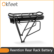 Battery Bafang 48v 13ah Bateria Rear-Rack 16ah Okfeet 36V for Double-Layer Luggage Luggage
