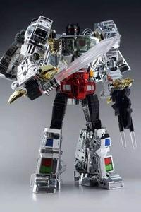 Image 2 - MP08 ボックス男児変換MP 08 特大電着バージョンアクションフィギュアkoロボットおもちゃ