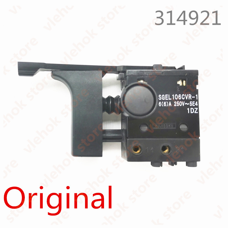 SWITCH For Hitachi W6VB2 W6V3L W6V3 FDV20VB DV20VB 314921 Hammer Drill Power Tool Accessories Electric Tools Part