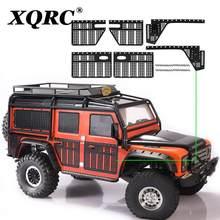 XQRC – feuille décorative en acier inoxydable, plaque antidérapante de la coque de la voiture, utilisée pour véhicule sur chenilles 1 / 10rc trx-4 trx4