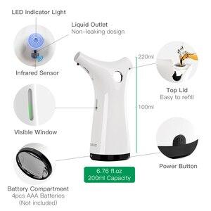 Image 4 - 200ml Infrared Sensor Soap Dispenser Hand Sanitizer Shampoo Lotion Dispensers Touchless For Kitchen