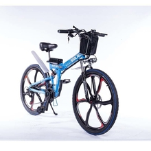 SMLROHot Sale 350W 48V 10AH bicicleta electrica 26 inch E bike electric foldable with Lithium Battery