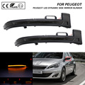 2 шт., Светодиодные поворотники для Peugeot 308 2013-2019