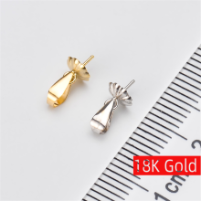 New 18K Gold Pendant gold jewelry,Antiallergic For Women Fashion for love pearl Accessories