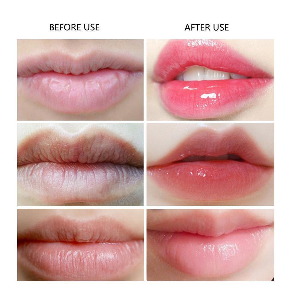 Crystal Collagen Lip Plumper Mask Honey Lip Mask Pads Enhancer Patch Care Aging Anti Gel Lips Scrub Wrinkle Moisture H6O0 3