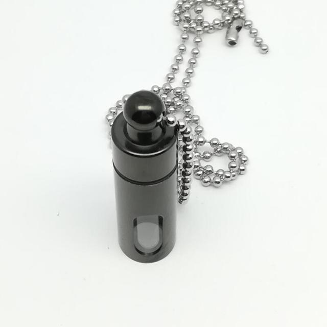 Купить флакон для хранения духов из титана новый флакон ожерелье стеклянная