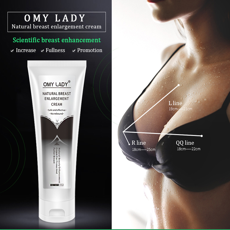 OMY LADY Breast Enhancement Cream Breast Enlargement Promote Female Hormones Breast Lift Firming Massage Best Up Size Bust Care 1
