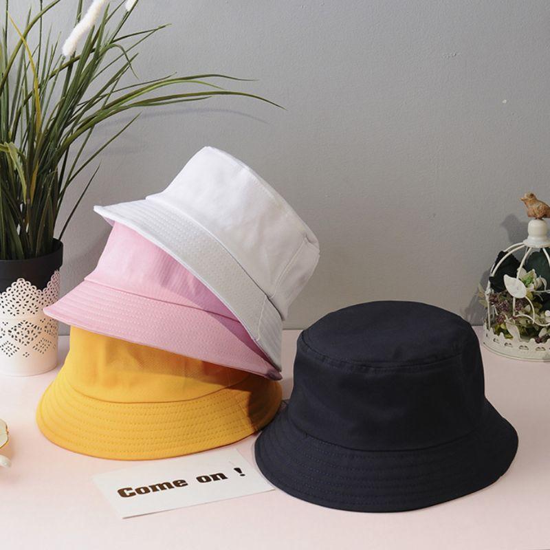 Панама в Корейском стиле для взрослых и детей, Пляжная складная шляпа с широкими полями в стиле хип-хоп, с круглым верхом и защитой от ультра...