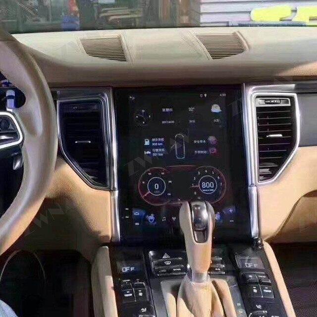 Android 9 For Porsche Macan 2011 2012 2013 2014   2017 Vertical IPS Screen Tesla Style Multimedia GPS Navigation Audio Autoradio