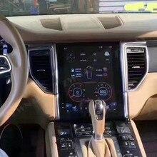 Android 9 dla Porsche Macan 2011 2012 2013 2014   2017 pionowy ekran IPS styl Tesla Multimedia nawigacja GPS Audio Autoradio