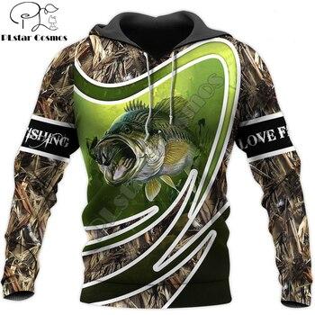 Love fishing bass hoodie unisex