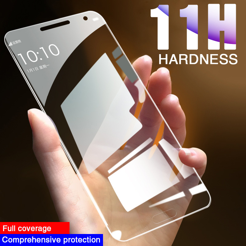 Full Tempered <font><b>Glass</b></font> For <font><b>Samsung</b></font> <font><b>Galaxy</b></font> J3 J5 J7 PRO 2017 Screen Protector For <font><b>Samsung</b></font> <font><b>J4</b></font> J6 J8 <font><b>2018</b></font> A5 A9 A7 A6 Plus <font><b>Glass</b></font> Film image