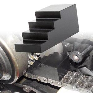 Image 1 - Herramienta de bloqueo de conducción primaria para motocicleta, tuerca de centro de bloqueo, pala Universal para cámara gemela para Harley CNC, accesorios mecanizados para motocicleta