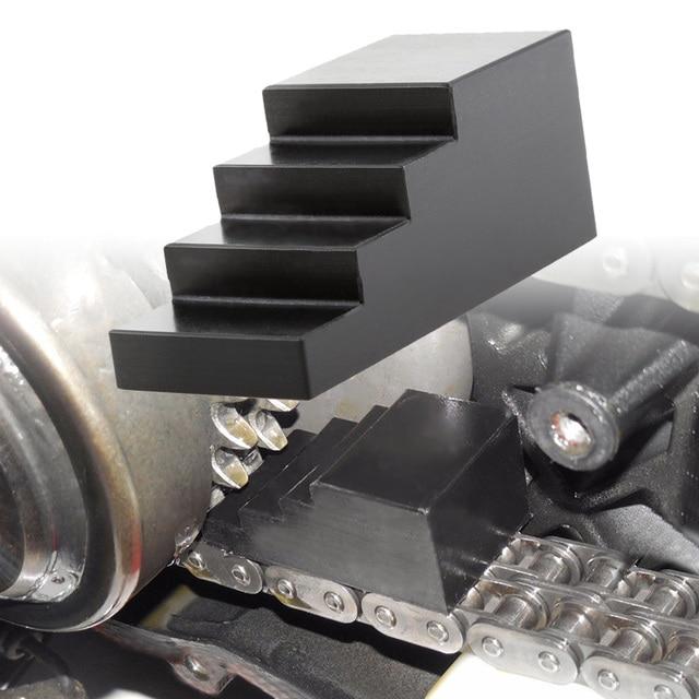 Herramienta de bloqueo de conducción primaria para motocicleta, tuerca de centro de bloqueo, pala Universal para cámara gemela para Harley CNC, accesorios mecanizados para motocicleta