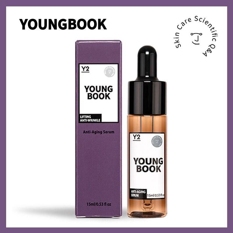 Антивозрастная сыворотка YOUNGBOOK, лифтинг, укрепляющий коллаген, эссенция для лица, удаление морщин, снятие тонких линий, подтяжка, уход за кож...