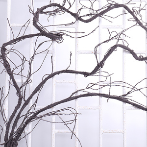 Image 1 - 300cm Artificial fake tree Plants Real touch branches liana Wall Hanging Rattan Plastic flexible flower vines Wedding Decoration