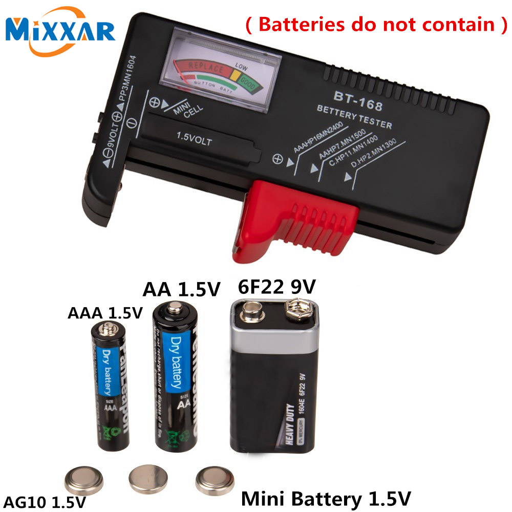 Zk30 Digital Battery Capacitance Diagnostic Tool Battery Tester Lcd Display Check Aaa Aa Button Cell Universal Tester