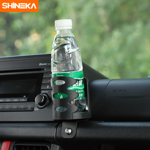 Image 4 - SHINEKA soporte Universal para automóvil Suzuki Jimny JB74 2019 + soporte de teléfono para coche, portavasos, organizador para Jimny 2019 +