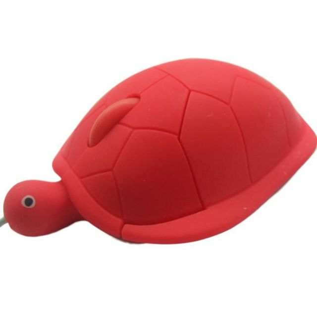 Cute Turtle Mouse Ergonomic Optical USB Wired Mice Funny Shape PC Computer Laptop Mouses 6