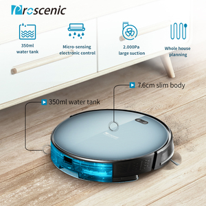 Image 2 - Proscenic Robot Vacuum Cleaner 820T, Wi Fi and Alexa Connected, 3 in 1Robotic vacuum Cleaner, Powerful 2000PA Carpet and Floor