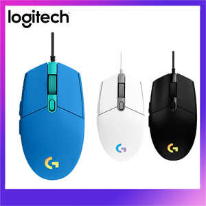 Logitech G102 Gaming Mouse USB Wired Mice RGB LIGHTSYNC 6 Programmable Buttons 8000DPI For Home Office Desktop Laptop