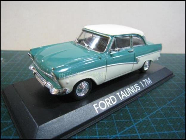 1:43 Alloy High Simulation Ford Taunus 17M Car Model,collection Gifts,children's Sliding Toys,free Shipping