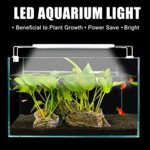 Extendable Slim Aquarium Dimmable Clip-on Light Plant 220V/110V 5W/8W/11W/16W Fish Tank Led Lighting