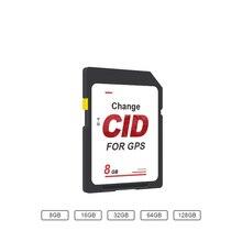 CID SD Card OEM / ODM 8GB memory card Map 32GB UHS I flash memory card 128GB 512GB high speed up to 85M change navigation CID