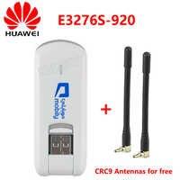Odblokowany Huawei E3276S-920 E3276 4G LTE TDD USB 150 mb/s Modem bezprzewodowy USB 4G Dongle sieci kij + 2 sztuk 4G antena darmo