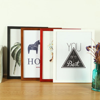 1PCS Solid Wood Photo Frame Wood Picture Frames for Paintings Wholesale