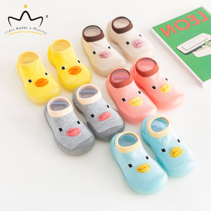 Newborn Toddler Baby Shoes First Walkers Cute Cartoon Animal Soft Cotton Baby Boy Girl Shoes Anti Slip Rubber Sole Shoes Kids