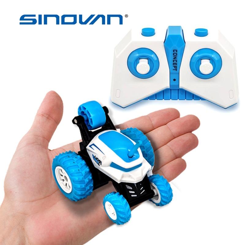 Sinovan Mini RC Car 2.4G 4CH Stunt Drift Deformation Buggy Rock Crawler Roll Car 360 Degree Flip Remote Control Car Toys For Kid