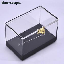 Pro Schalter Box Zaubertricks Magier Close Up Illusions Gimmick Prop Erscheinen Transforming Objekte Transparent Magia Box