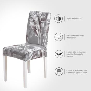 Spandex Chair Cover for Home New Stretch Elastic Slipcovers Chair Seat Covers For Dining Room sillas