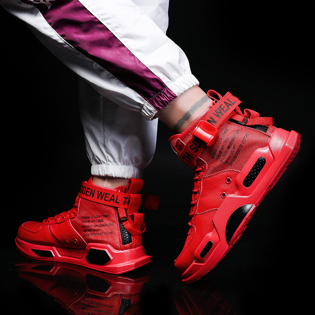 Фото кроссовки yween мужские кожаные дышащие высокие повседневная цена