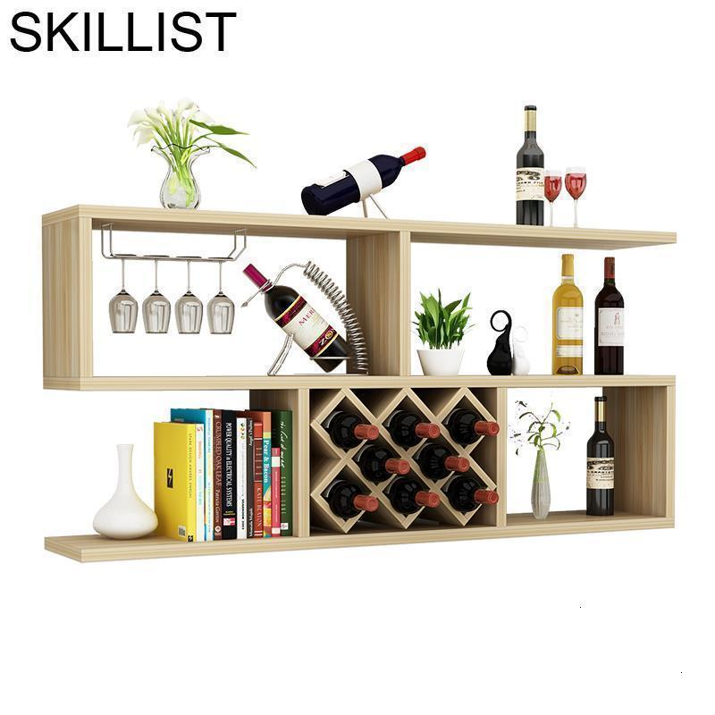 Meube Rack Kitchen Meja Display Meble Salon Mobili Per La Casa Cocina Commercial Furniture Mueble Shelf Bar Wine Cabinet
