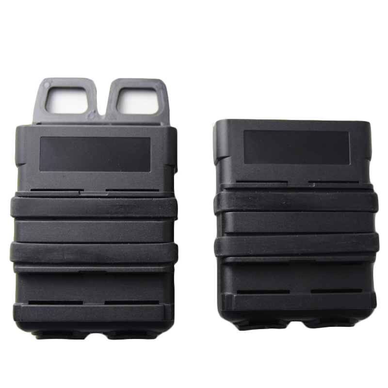 5.56mm Fast Mag Pouch Tactical Magazine Pouch Airsoft Holster For M4 M16 AR-15 SCAR HK416 STANAG 5.56 MAG Molle Pouchs Belt Case