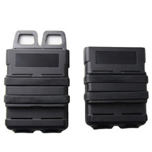 5.56mm Fast Mag 파우치 전술 잡지 파우치 M4 M16 AR-15 SCAR HK416 STANAG 5.56 MAG Molle 파우치 벨트 케이스 용 Airsoft 홀스터(China)