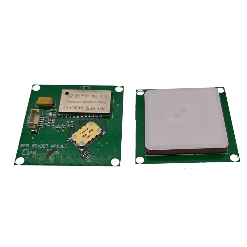 FONKAN TTL232 3.3V UHF RFID Integrative Reader Module With 2dBi Ceramic Antenna For Application Development Provide Free SDK