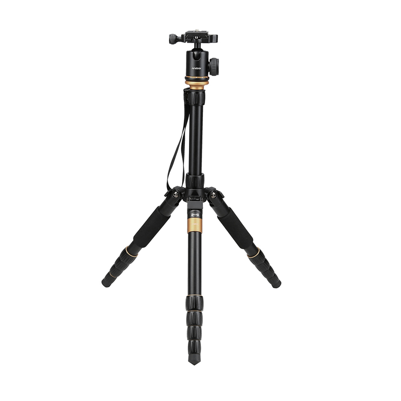 Russia Free Shipping Andoer QZ-278 Camera Tripod  Professional Monopod W/Ball Head For Sony Canon Nikon DSLR