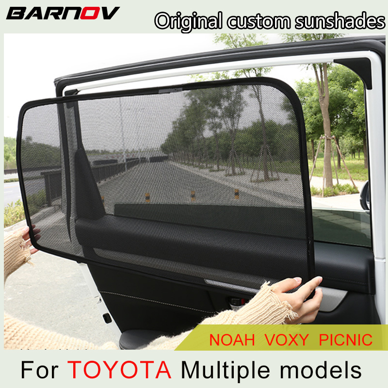 Car Special Magnetic Curtain Window SunShades Mesh Shade Blind Original Custom For Toyota Picnic Noah-70/80 Voxy-60/70/80