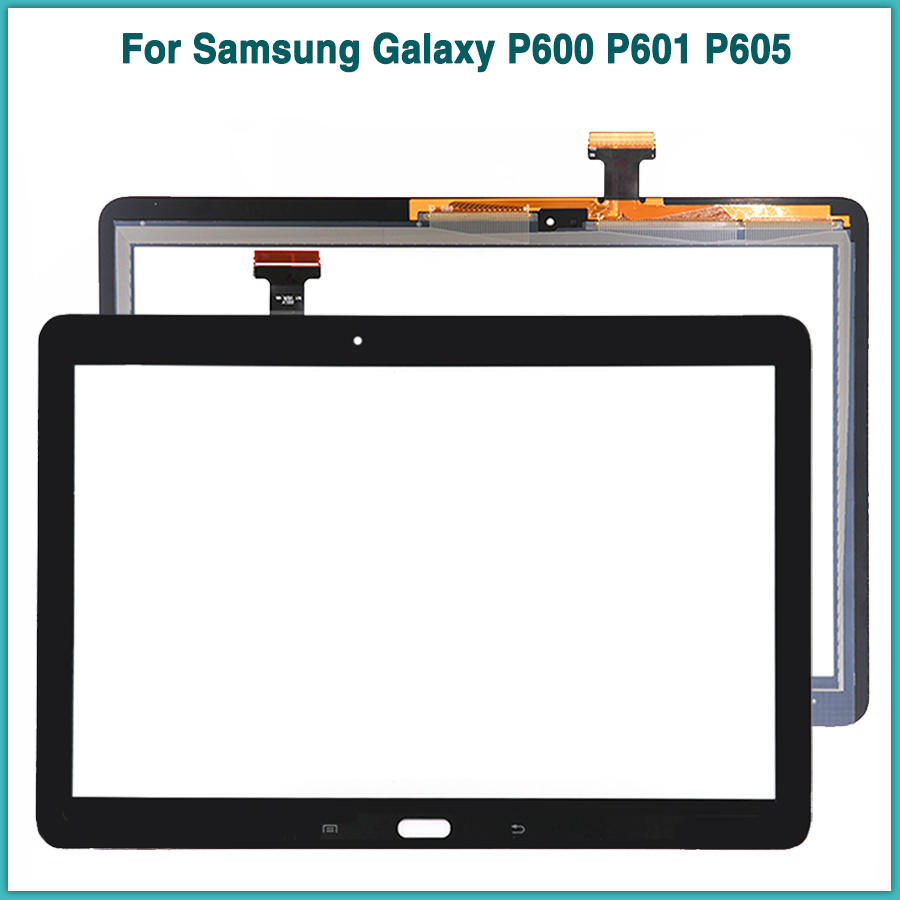 New P600 TouchScreen For Samsung Galaxy Note 10.1 2014 Edition SM-P600 P601 P605 Touch Screen Panel Digitizer Sensor Front Glass