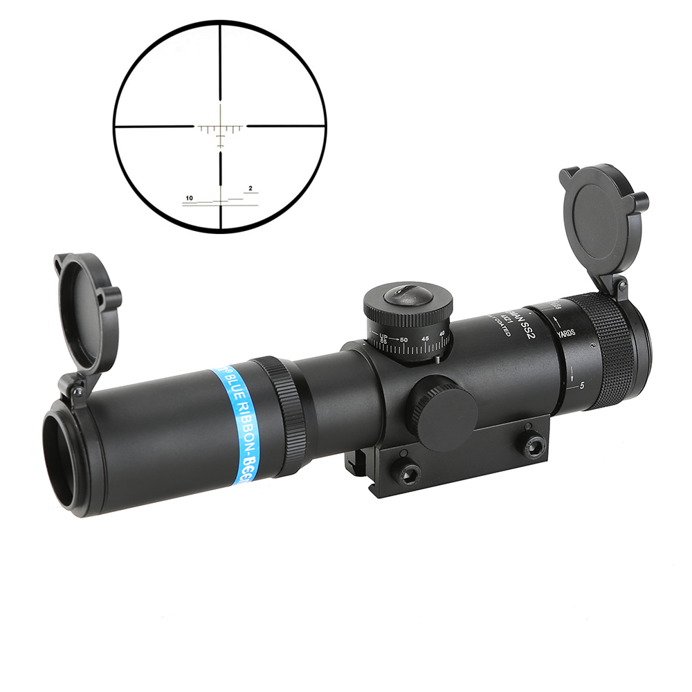 SPINA OPTICS Hot Sell EB KS 4x21 RO Compact Hunting Rifle Scope Tactical Sight Glass Etched Reticle Riflescope