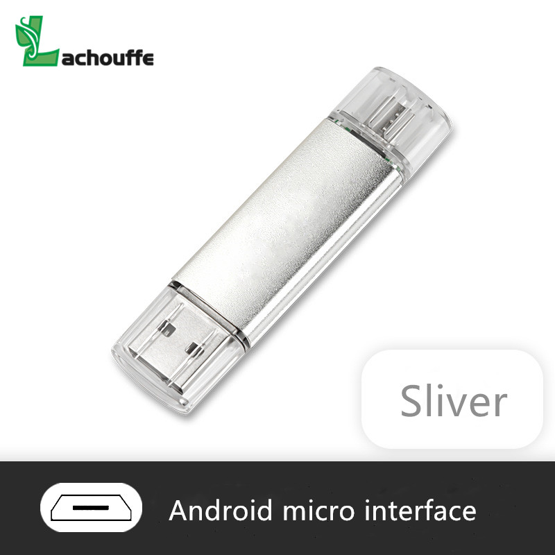 USB Flash Drive флешка OTG High Speed Drive 64 GB 32 GB 16 GB 8 GB 4GB External Storage Double Application Micro USB Stick