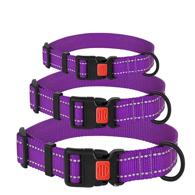Pet Supplies Hot Selling Medium And Small Dog Supplies Dog Neck Ring Thick Luminous Collar