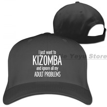 Dance Kizomba Brazilian Dance Baseball cap men women Trucker Hats fashion adjustable cap(China)