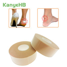 Bandagem médica de borracha multifuncional, fita adesiva para os pés, anti-adesivo, à prova d'água adesivo do almofada